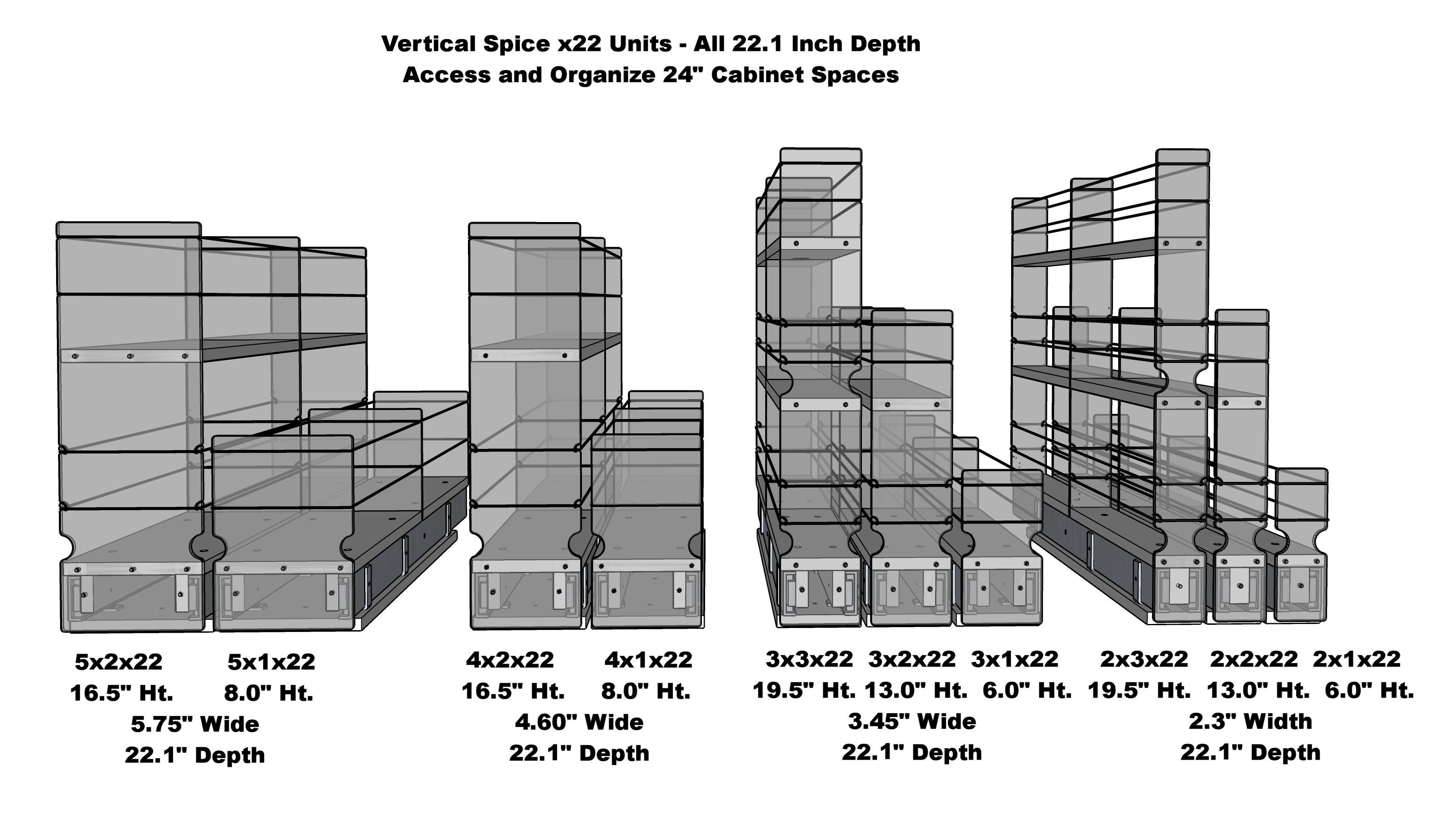 x22 Units - All 10 Designs