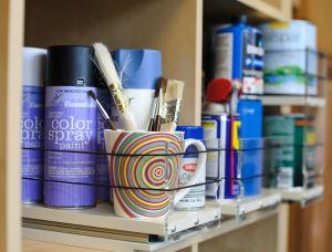 Organize Art Supplies