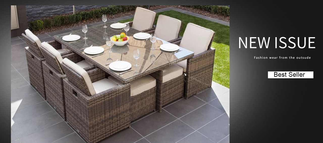 6 To 8 Seater Round Patio Set Cover