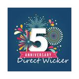 Direct Wicker's 5th Anniversary