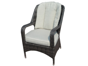 Direct Wicker Liberatore Dining Chair with Cushions(8 pcs)