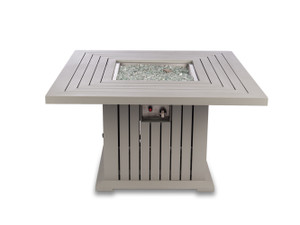 "43""x 43""x24in. Square Fire Pit Table"