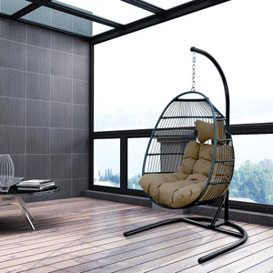 Single seat swing chair
