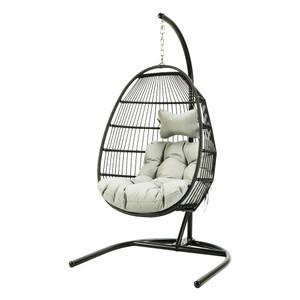 Single seat hang swing chair