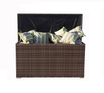 Direct Wicker Patio Coffee Table with Storage (UK Customer Only)