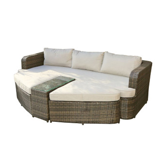 Cochran 4 Piece Deep Seating Group Daybed with Cushions