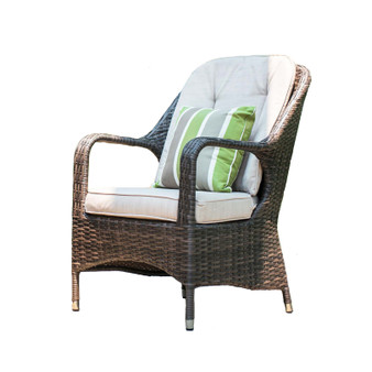 2-Piece Liberatore Dining Chairs with Cushions (One Set)