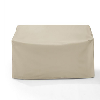 Square Beige Patio Dining and Sofa Set Cover,106'' W x 106'' D x 28'' H