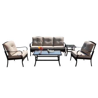 5-piece Outdoor Living Iron Patio Set (Single Item Included)
