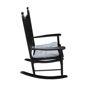 Casual wooden porch rocker chair