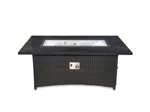 "58""L X 36""W X 24""H. Rectangle Fire Pit Table"