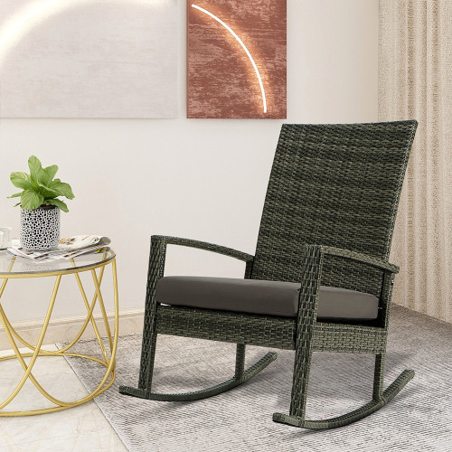 Garden Rocking Chair Rattan Chair 98