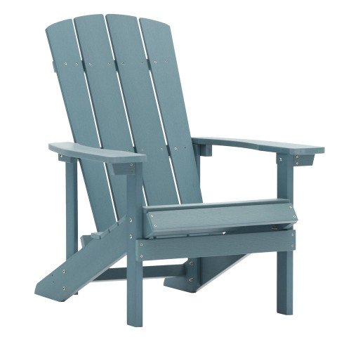 Chair Furniture for Outdoor Patio Lawn Garden Deck Backyard Campfire Weatherproof - Blue