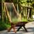 128folding roping wood chair