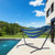 Double Classic Hammock with Stand for 2 Person- Indoor or Outdoor Use-with Carrying Pouch-Powder-coated Steel Frame - Durable 450 Pound Capacity,Blue