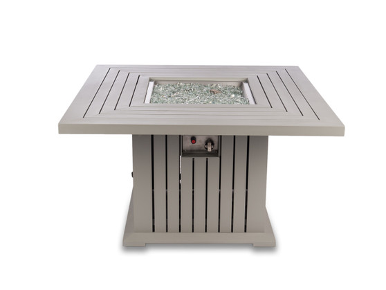"""43""""x 43""""x24in. Square Fire Pit Table"""