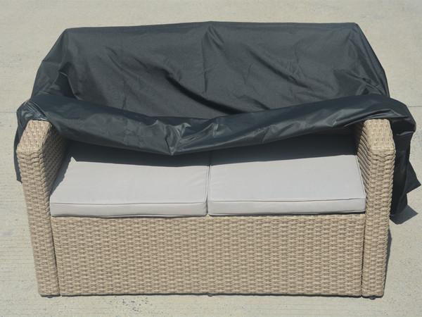 Direct Wicker Rachael Double  Seat Sofa Set Cover,L 57.87'' x D 32.68'' x H 23.62'' - 31.10''