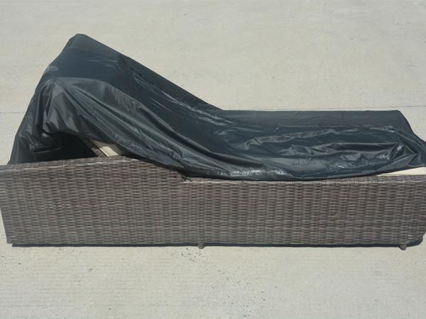 Direct Wicker Patio Lounge Chair  Rain Cover,L 66.14'' x W 27.95'' x H 14.96'' - 27.56''