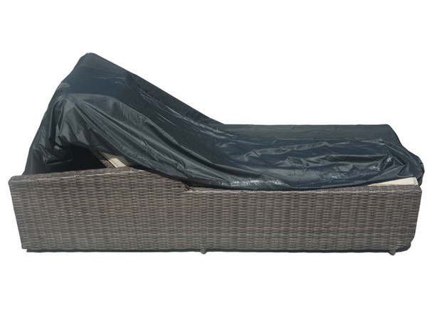Direct Wicker Patio Lounge Chair  Rain Cover,L 77.95'' x W 35.43'' x H 14.96'' - 33.07''