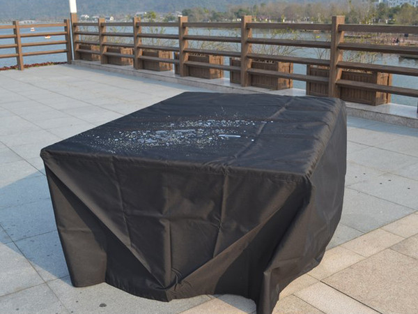 Direct Wicker Rectangular Patio Dining and Sofa Set Cover,106.30'' L x 81.89'' W x 22.83'' H