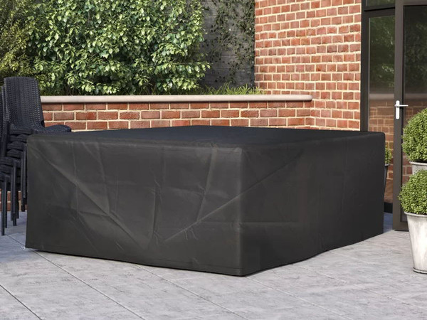 Direct Wicker Grumpy Rectangular Patio Dining and Sofa Set Cover,Overall:  94'' L x 75'' W x 35'' H