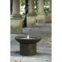 Brown Polyresin Outdoor Cascade Fountain