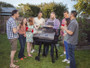 Direct Wicker Outdoor Cooking Wood Pellet BBQ Grill & Smoker with Digital Temperature Controls