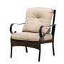 2-piece Indoor or Outdoor Patio Furniture Single Chair