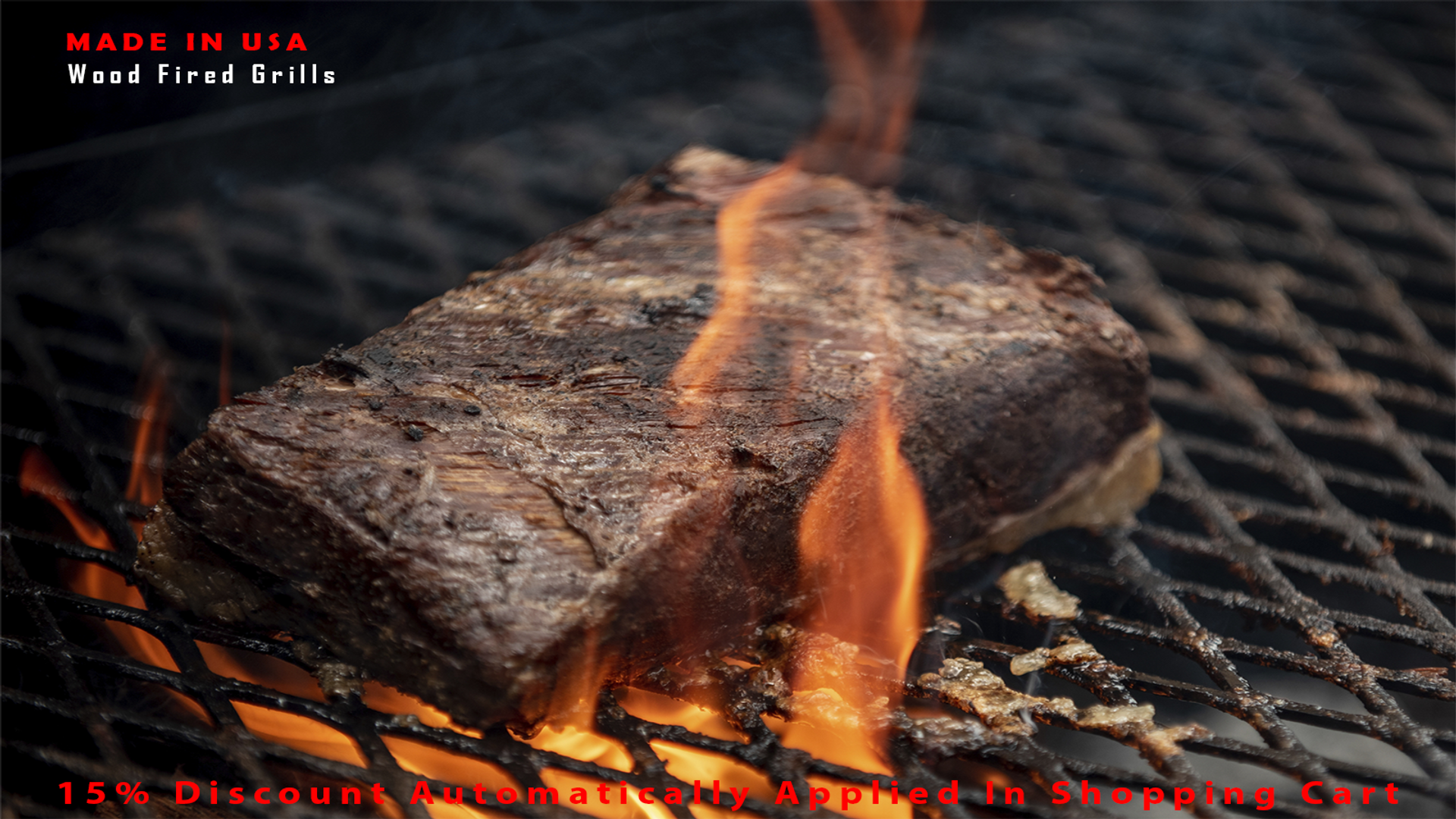 Wood Fired Santa Maria Grilling beef.