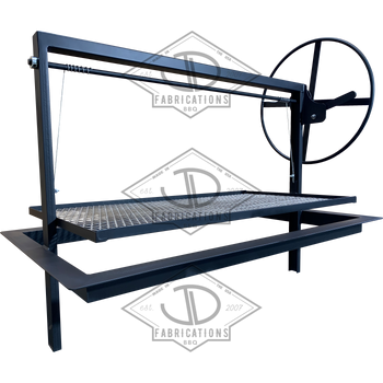 Santa Maria Argentine Drop in Frame with steel expanded grates