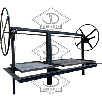 Dual Crank Santa Maria Gaucho Drop in Frame with stainless Free Float round rod grates