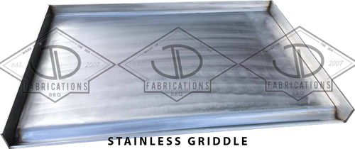 Stainless Griddle top for Santa Maria Argentine bbq Grills