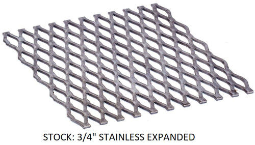 72x24 STAINLESS Dual Crank Drop In Frame Insert - Santa Maria Grill- Argentine Style