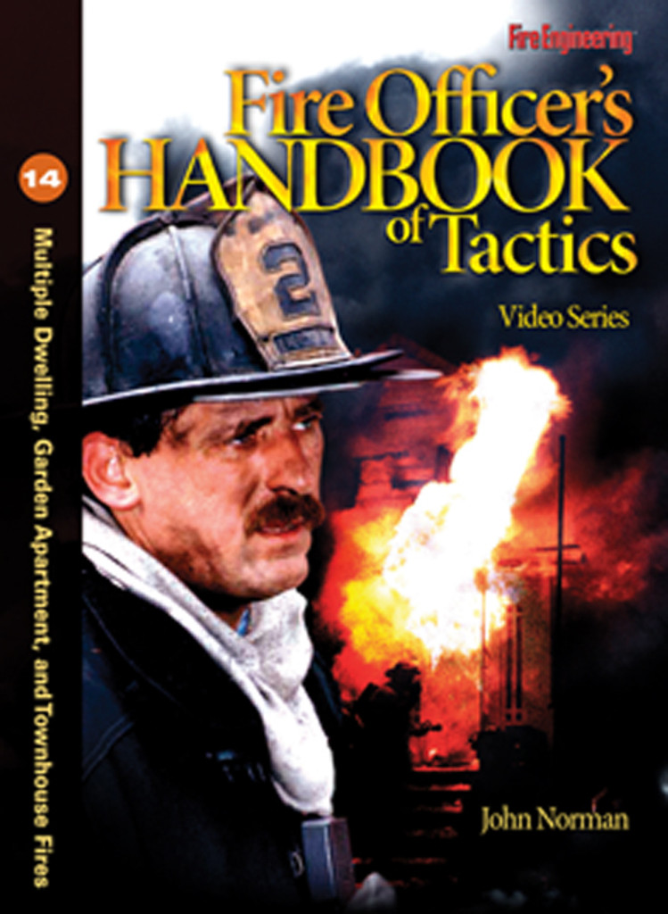 Fire Officer's Handbook of Tactics Video Series #14: Multiple Dwelling, Garden Apartment, and Townhouse Fires DVD