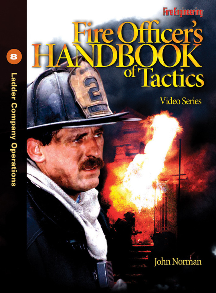 Fire Officer's Handbook of Tactics Video Series #8: Ladder Company Operations DVD