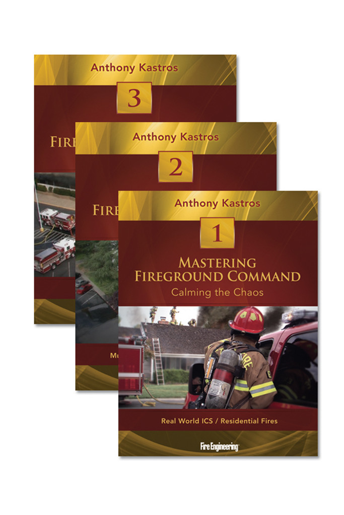 Mastering Fireground Command 3-DVD Set