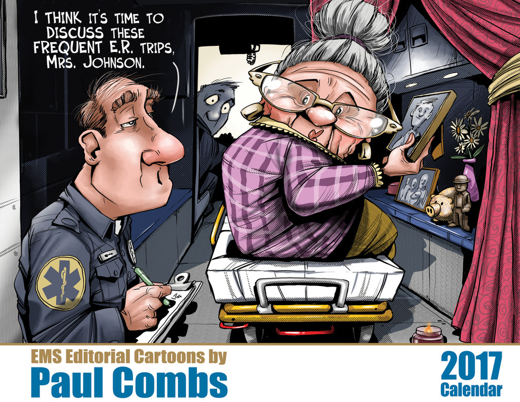 Paul Combs EMS Calendar 2017