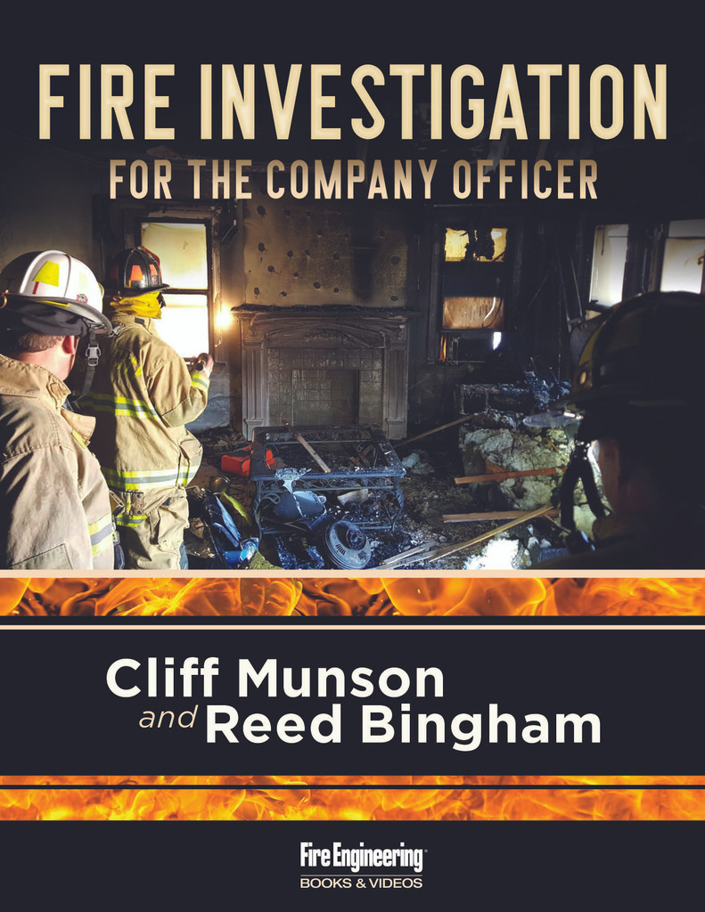 Fire Investigation for the Company Officer