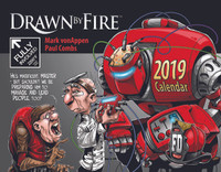 Drawn by Fire 2019 Calendar