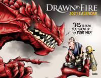 Drawn by Fire 2021 Calendar