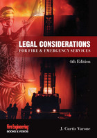 Legal Considerations for Fire & Emergency Services 4th Ed