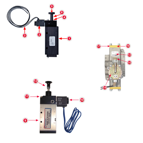 Air Control Box Replacement Parts