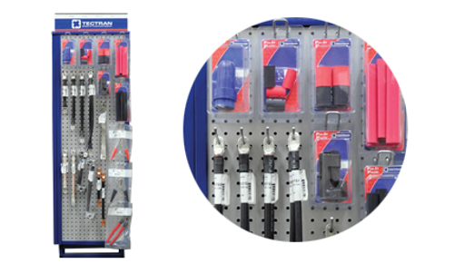 Battery Cable Assemblies Spinner Display