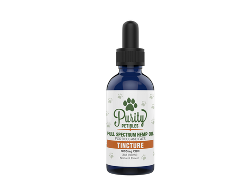 Full Spectrum Hemp Oil Pet CBD Tincture 900mg