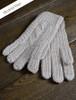 Adult Aran Gloves - Honey Oat