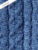 Pattern Detail of Merino Wool Aran Lumber Jacket