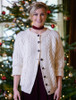 Premium Handknit Merino Lumber Jacket - White (CatImage_/christmas-for-her) (CatImage_/aran-christmas-store)
