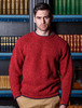 Wool Cashmere Crew Neck Sweater