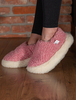 Merino Wool Slipper - Pink