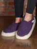 Merino Wool Slipper - Violet